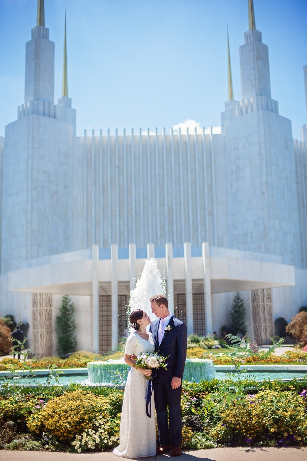 LDS Temple Wedding Maryland