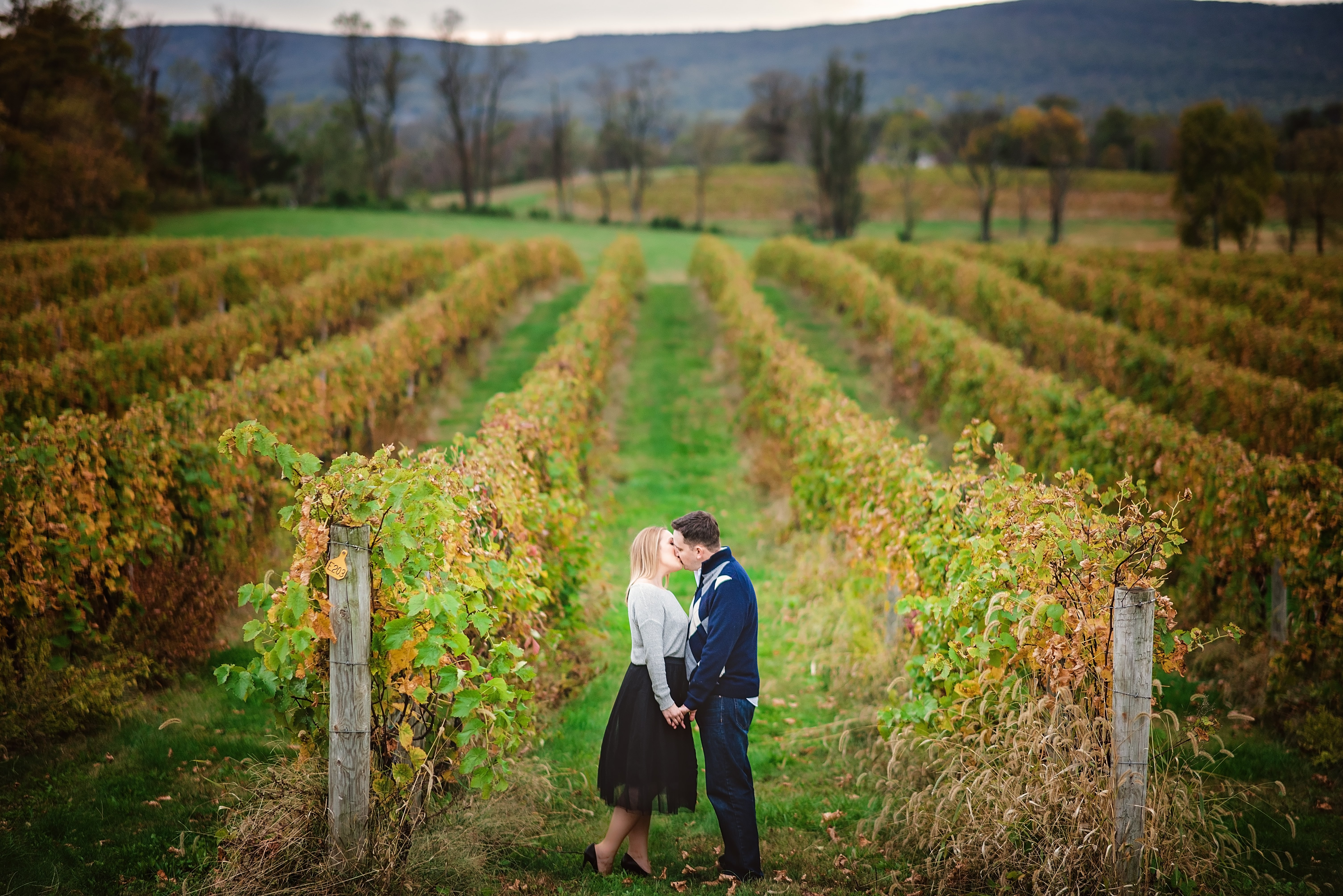 Breaux vineyard engagement session virginia 1001 angles