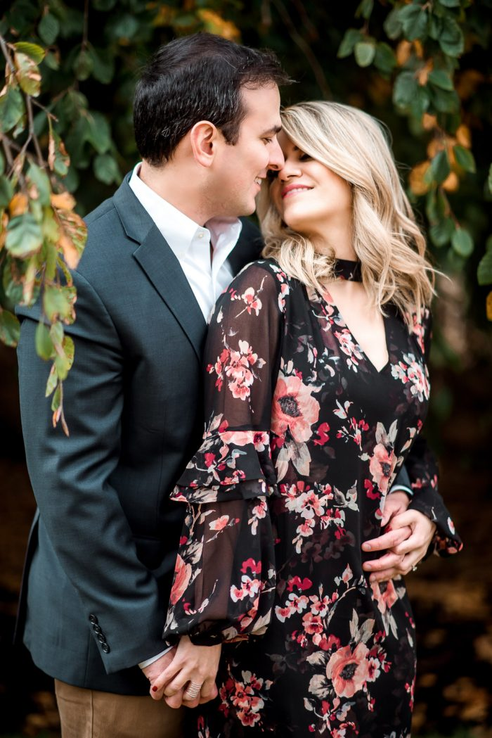 Boho Engagement Session Washington DC