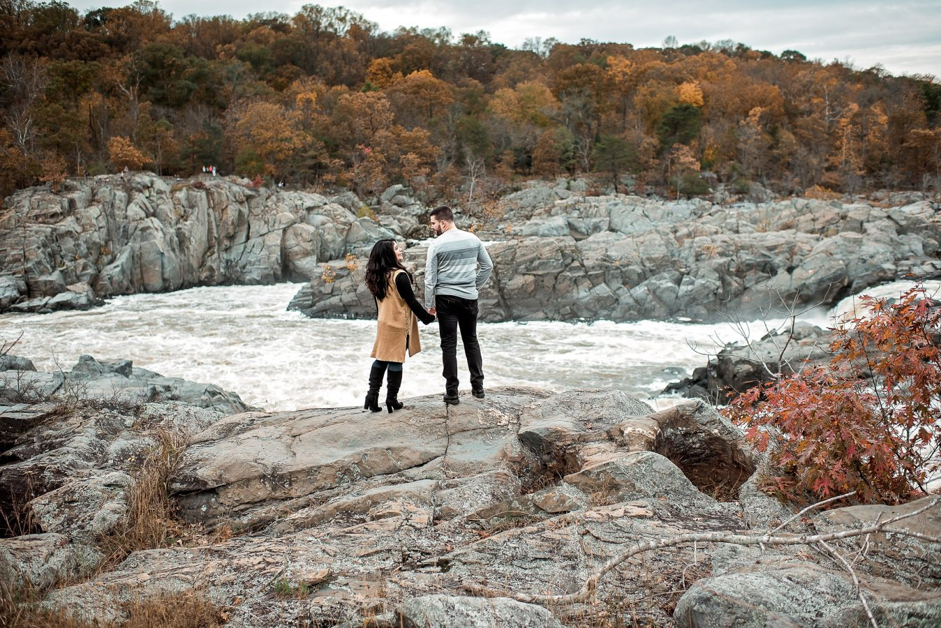 Great Falls Engagement Session Virginia