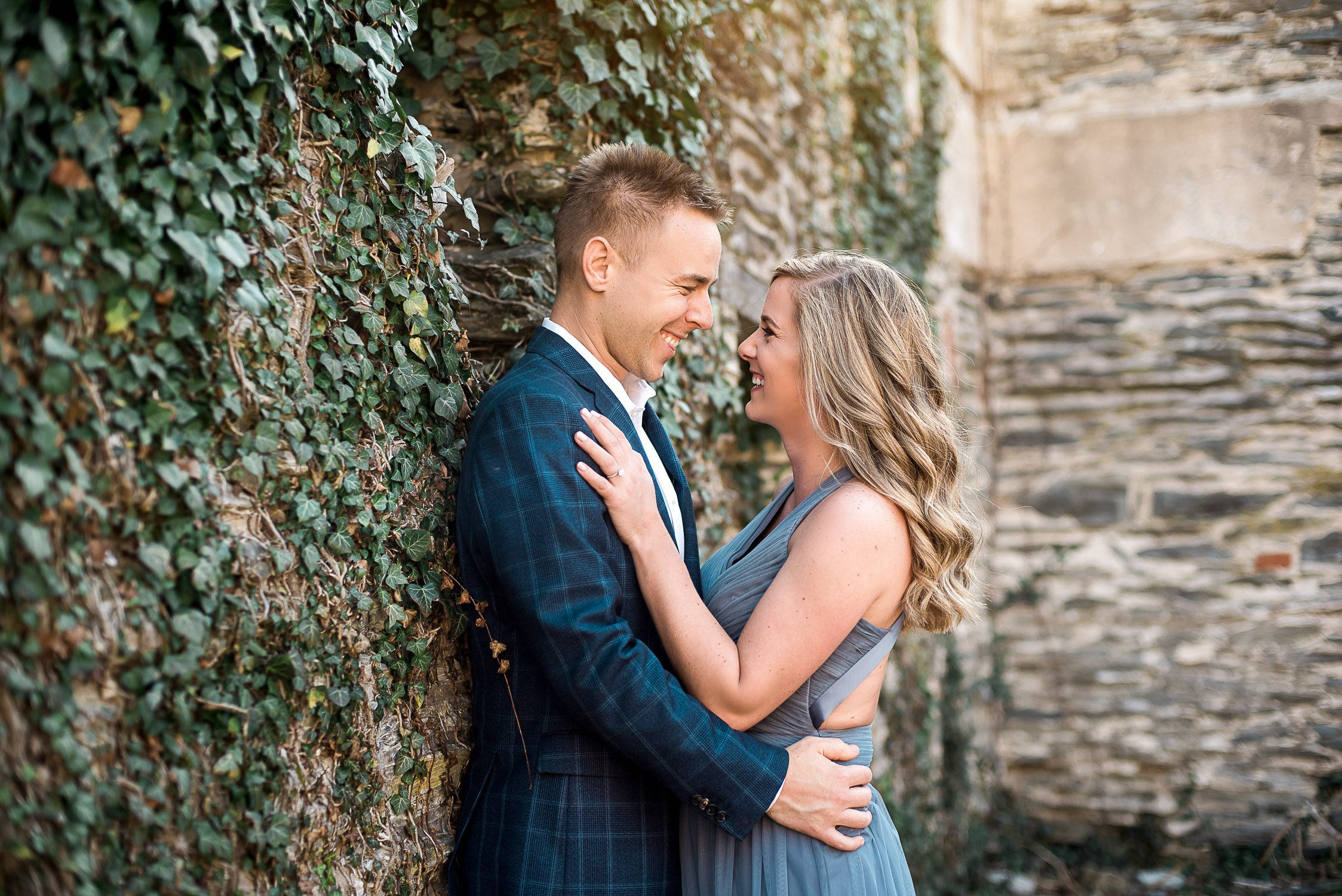 Engagement Session in Historic Ruins Virginia-1