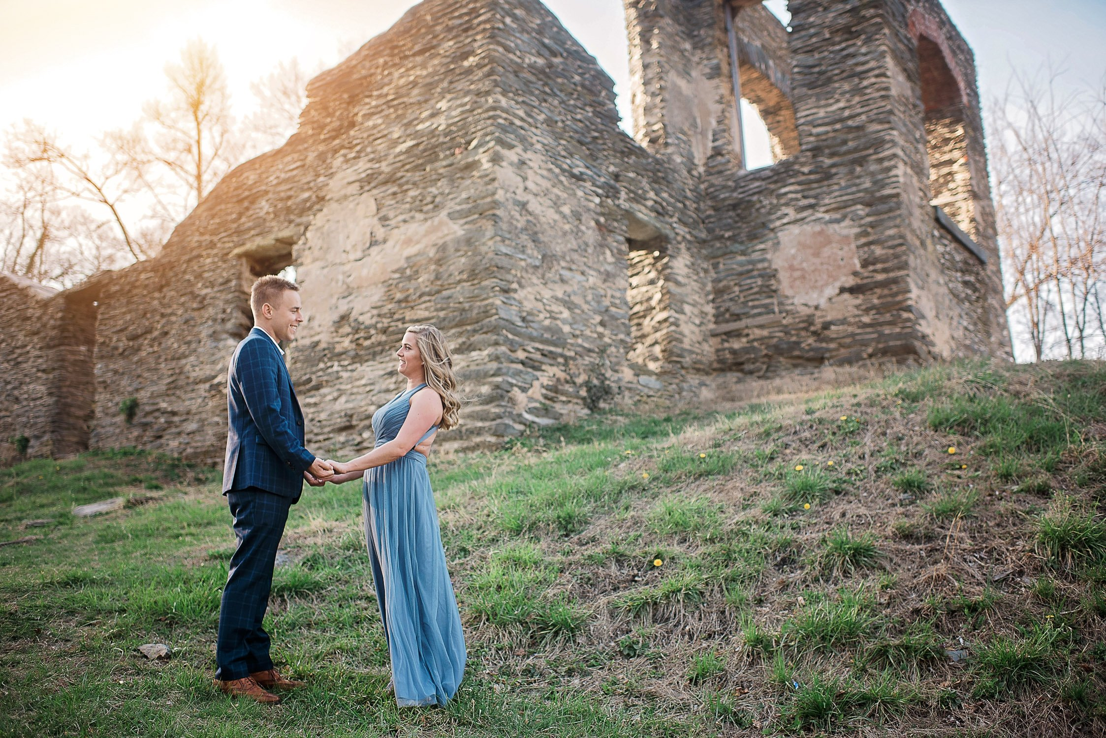 Engagement Session in Historic Ruins Virginia-20
