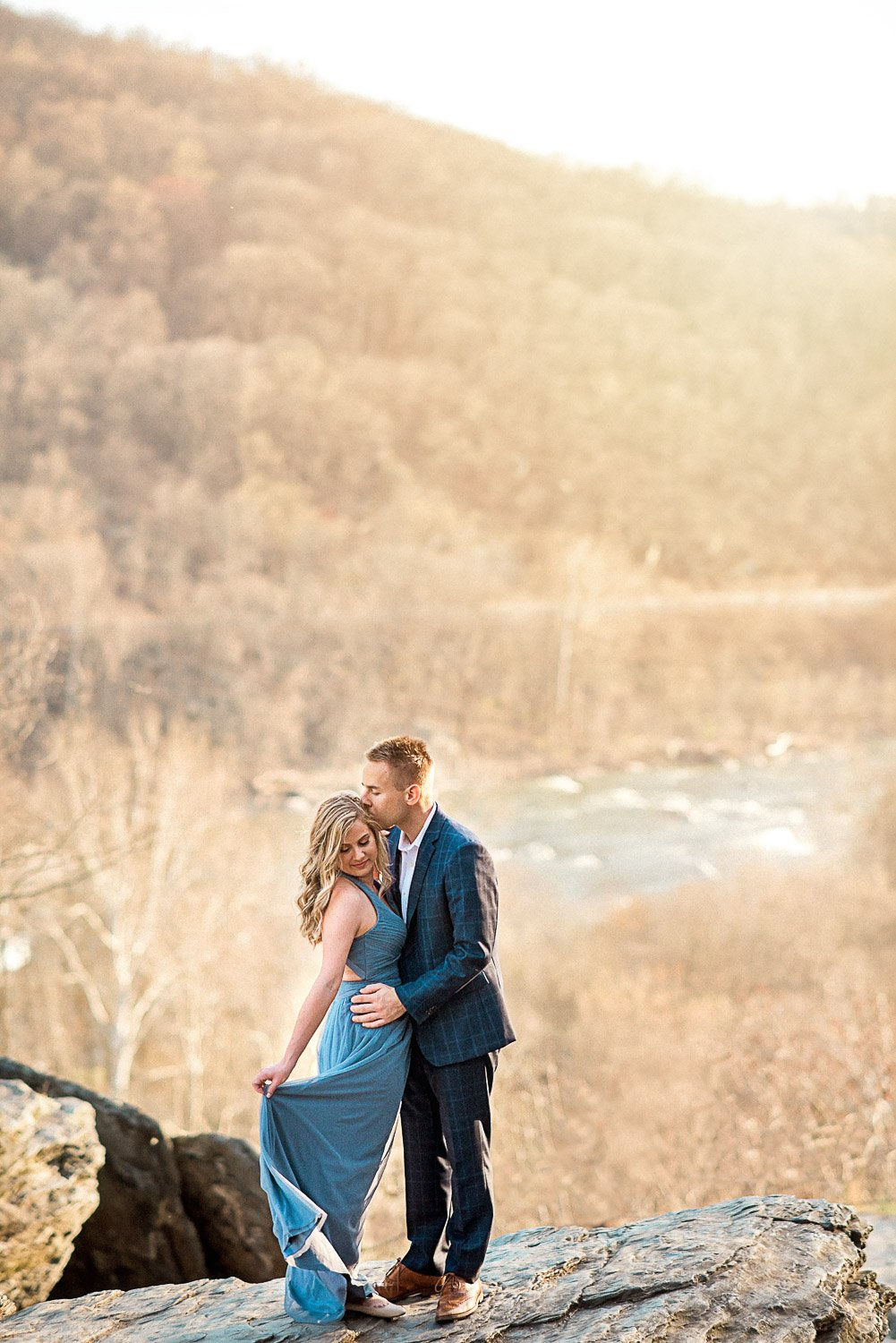 Engagement Session in Historic Ruins Virginia-28