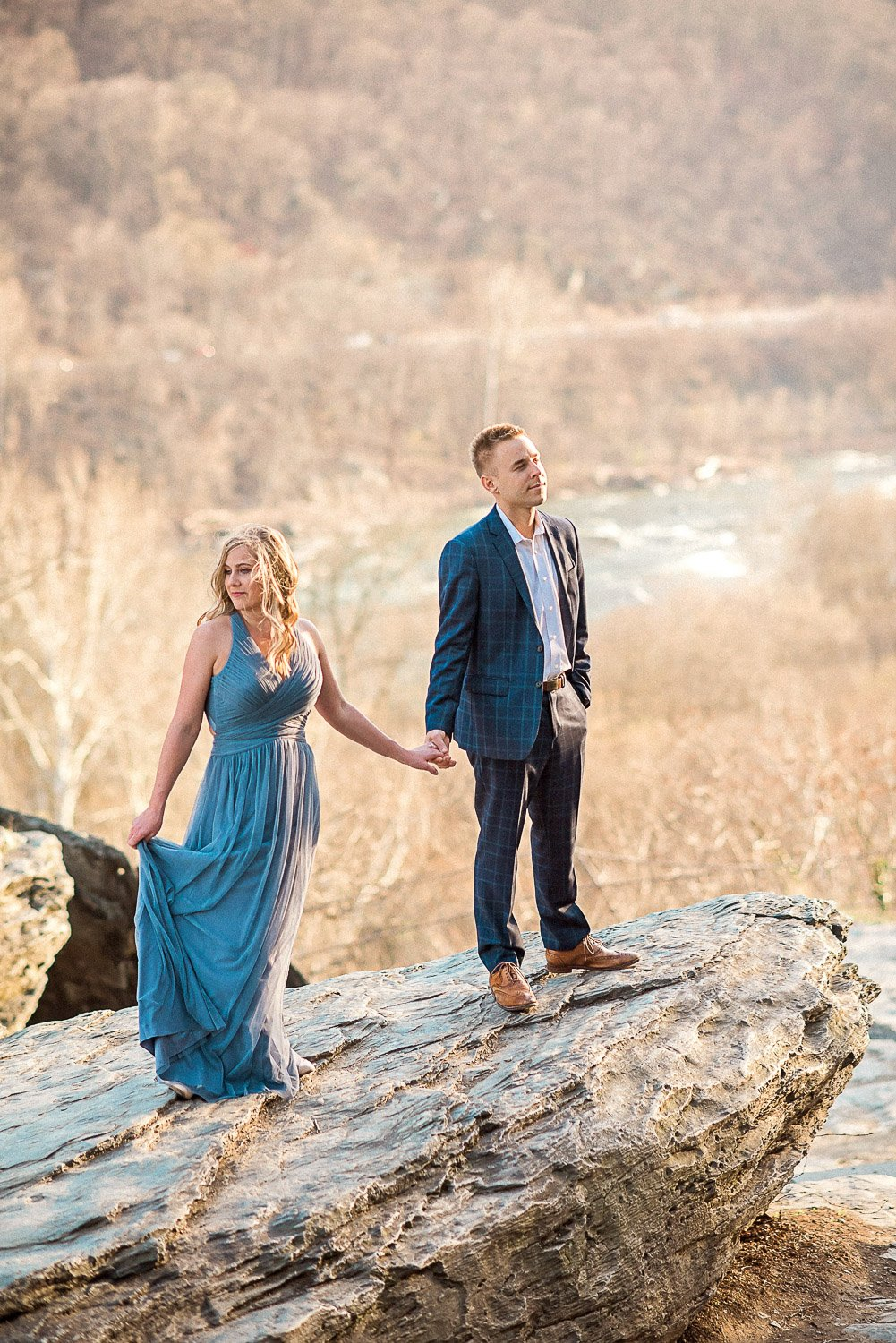 Engagement Session in Historic Ruins Virginia-29