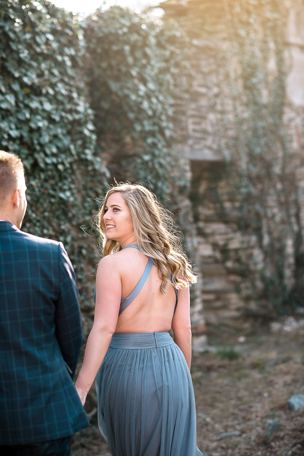 Engagement Session in Historic Ruins Virginia-8