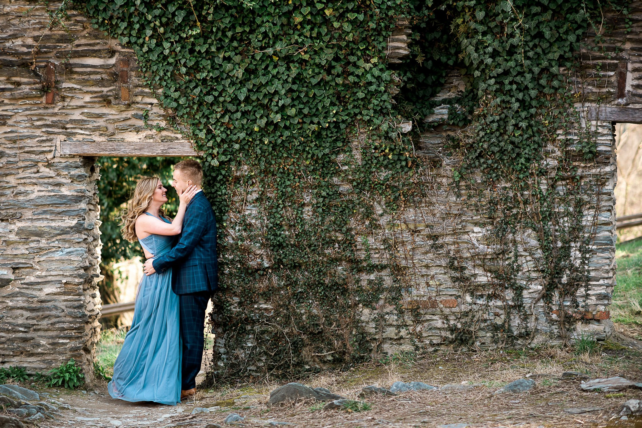 Engagement Session in Historic Ruins Virginia-9