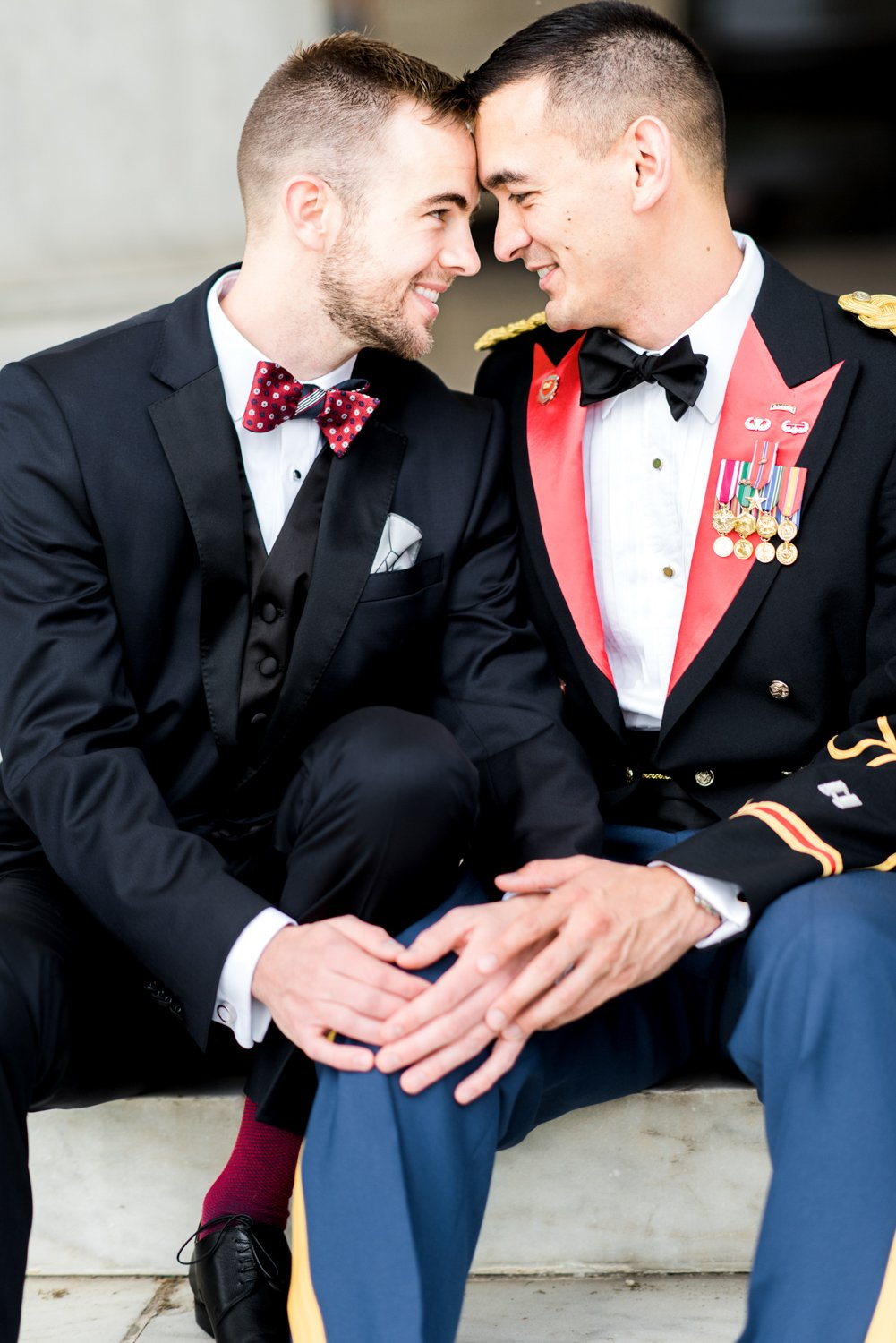 Army Navy Club Same Sex Wedding