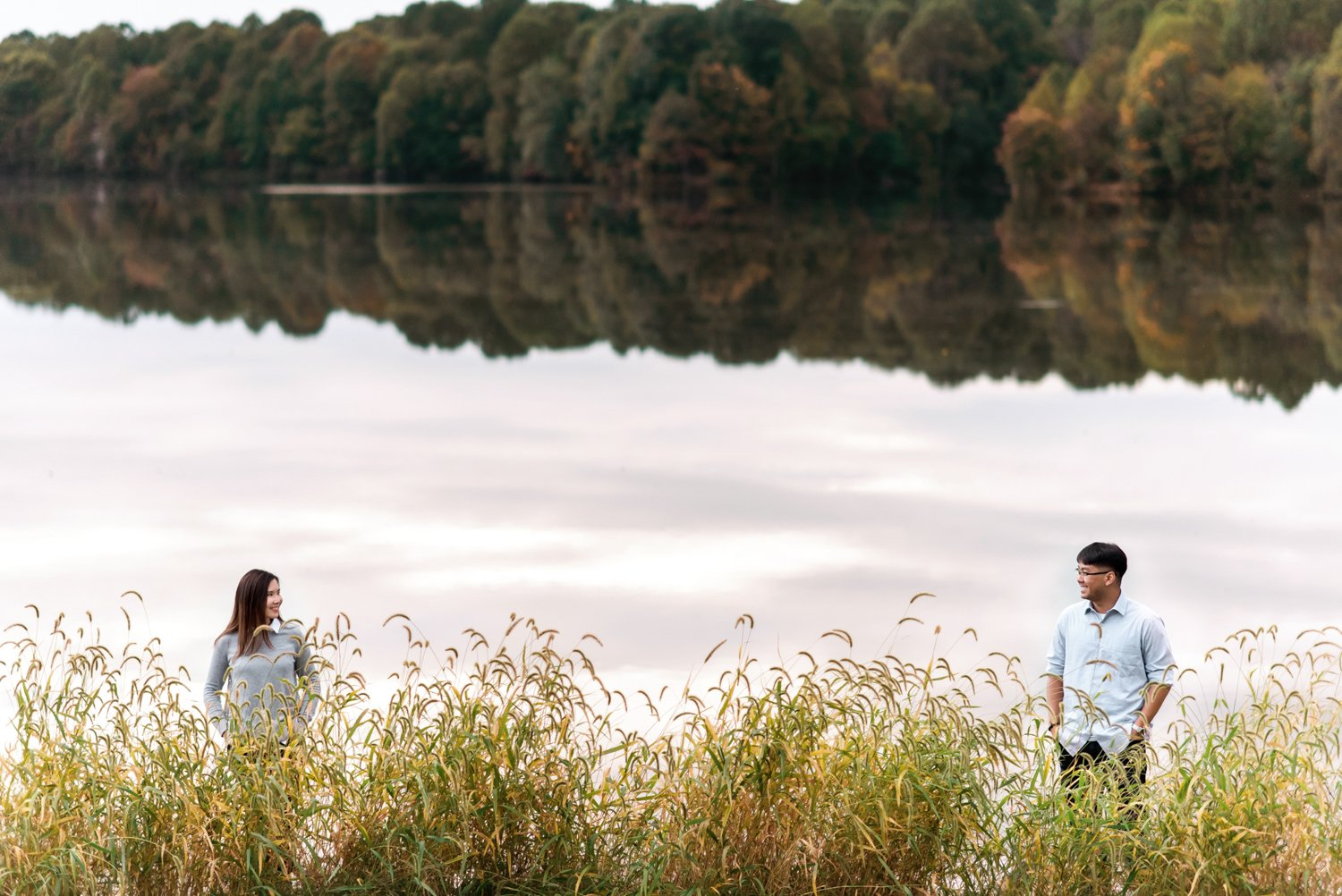 Centennial Park Maryland Engagement Session