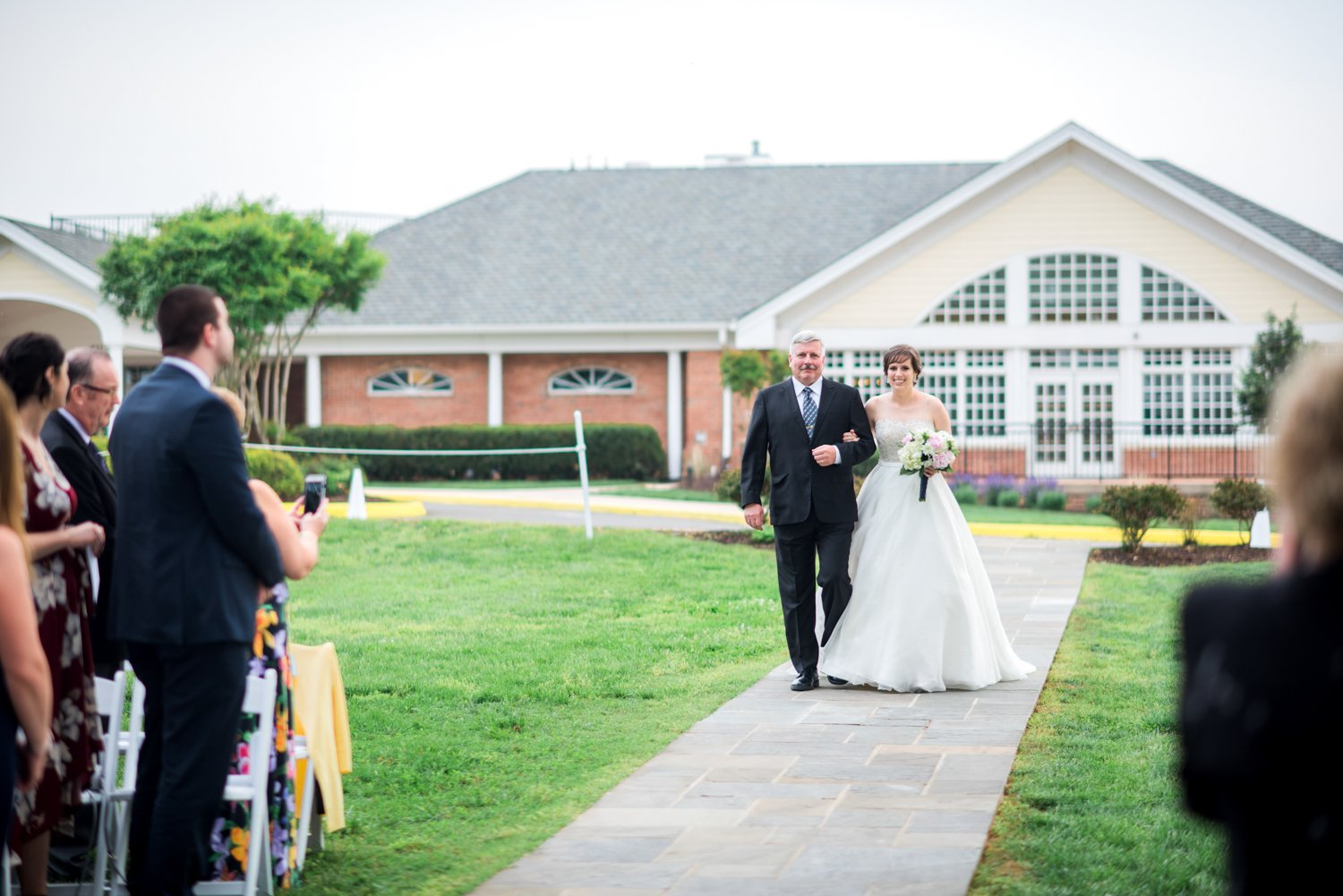Osprey's at Belmont Bay Woodbridge Virginia Wedding