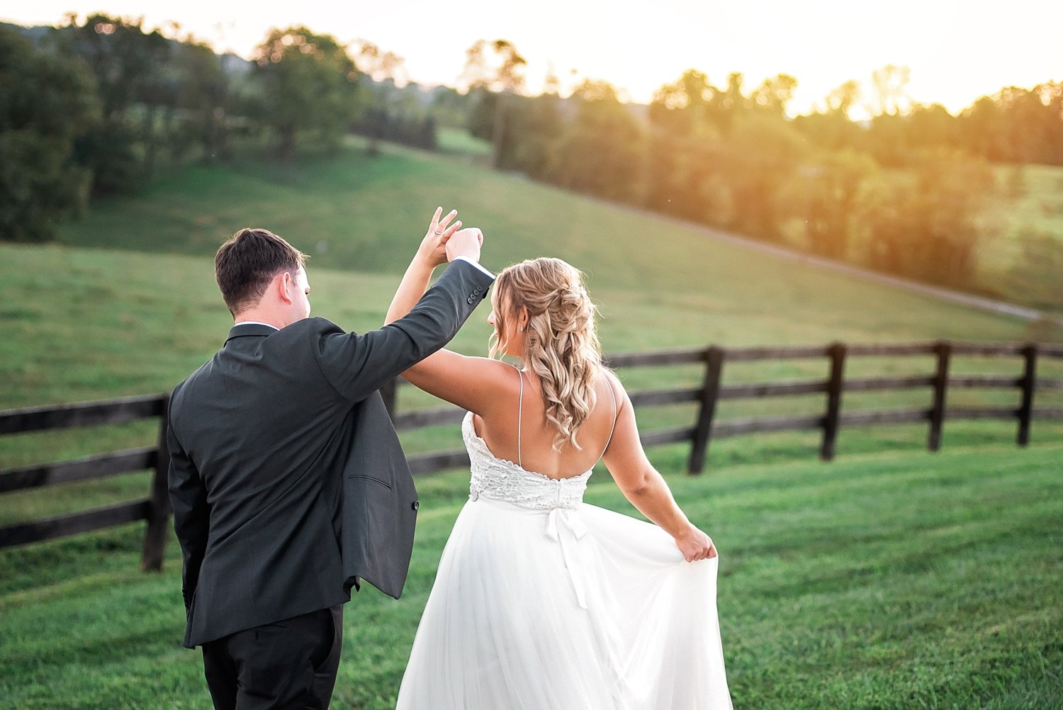 Shadow Creek Virginia Wedding