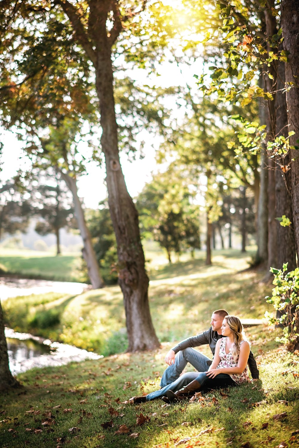 Sugarloaf Mountain Engagement Session Maryland
