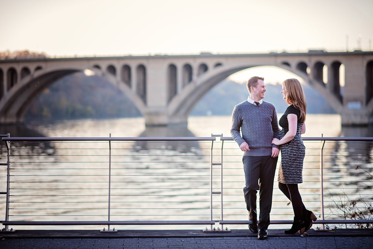 Georgetown Engagement Session Washington DC