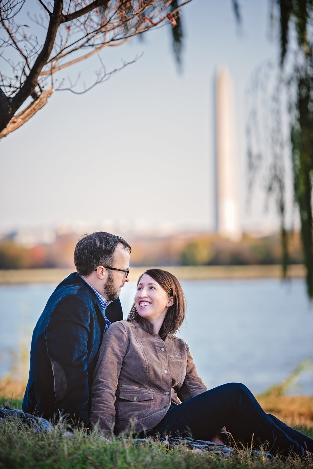 Mt Vernon Trail Fall Engagement Session Virginia