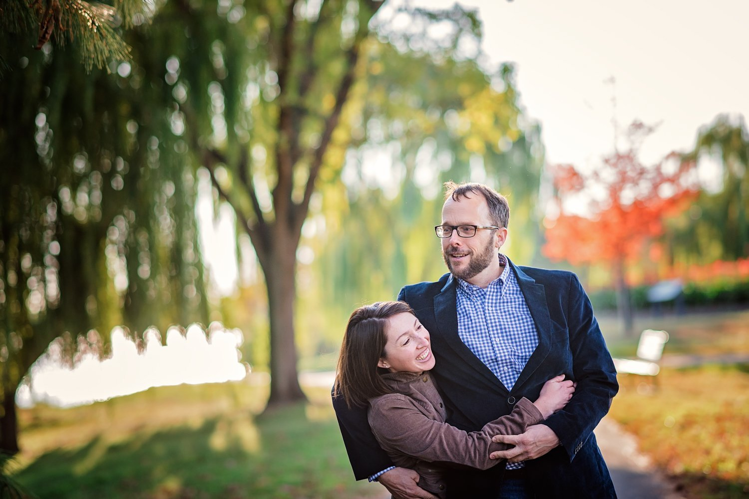 Mt Vernon Trail Fall Engagement Session