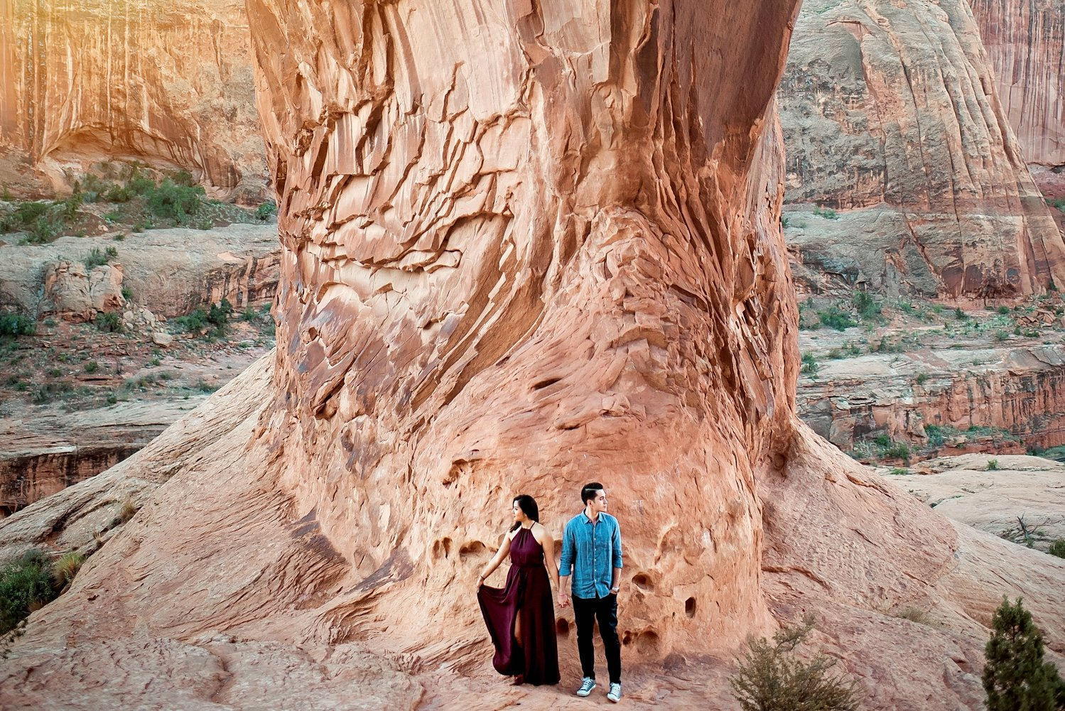 Arches National Park Adventure Engagement Session-62