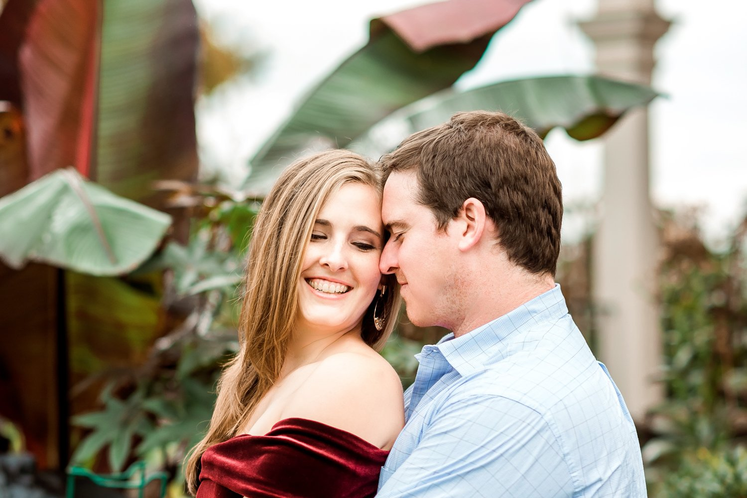 Cylburn Arboretum Engagement Session Baltimore Maryland