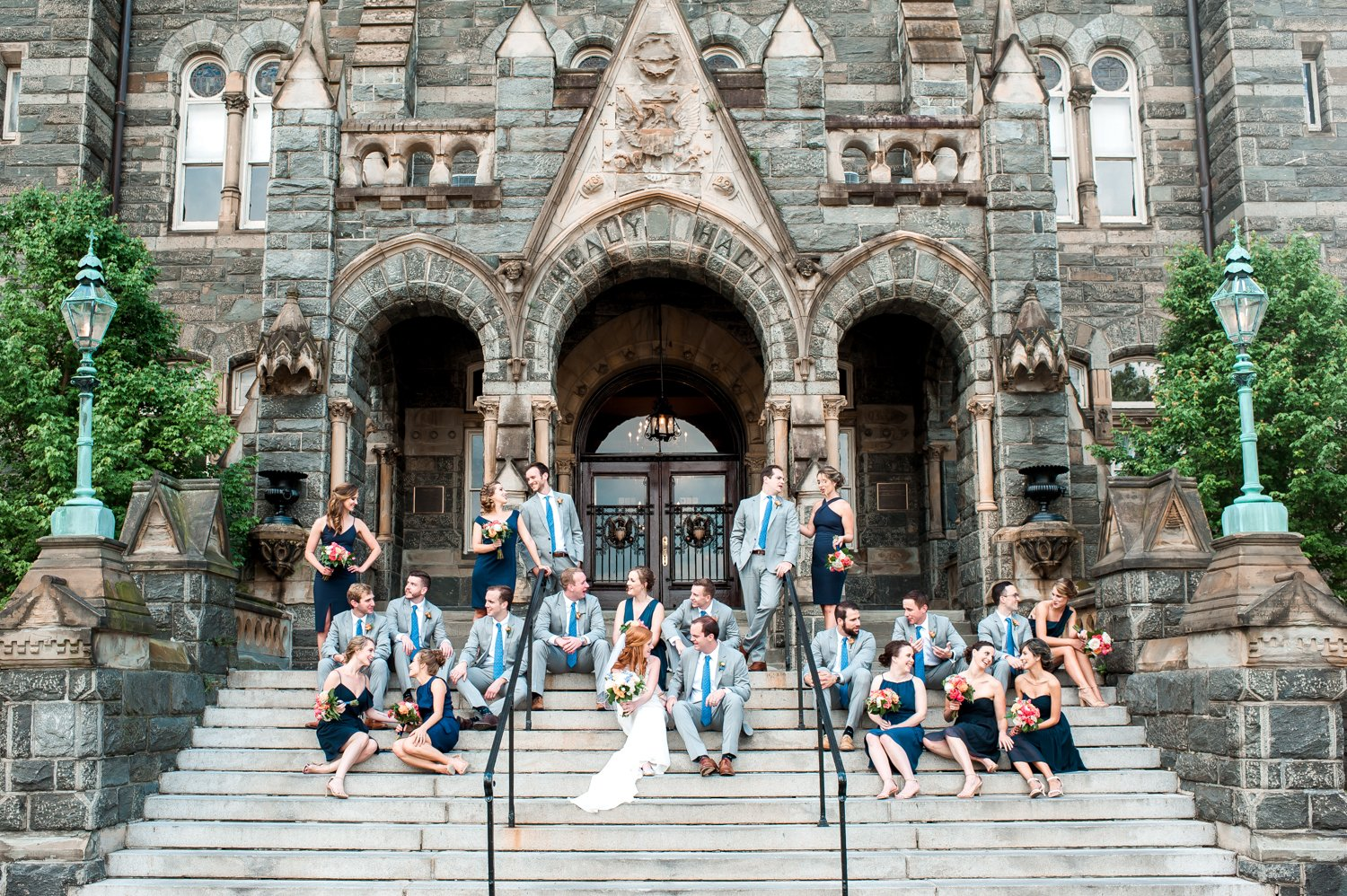 Georgetown University Wedding Washington DC